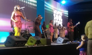 Sales Conference Entertainment - Live Band on Stage