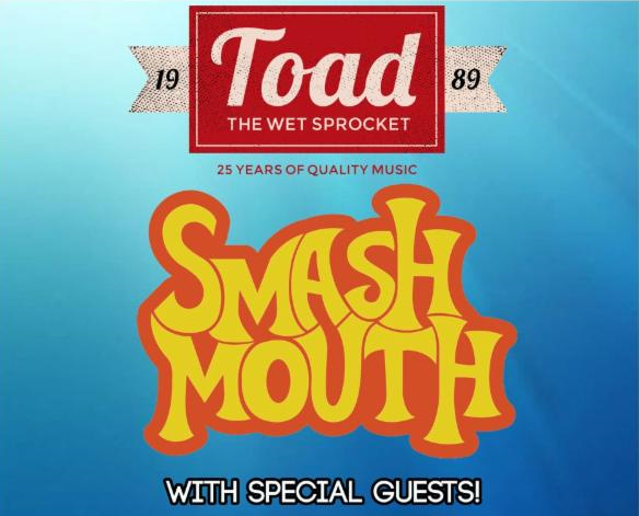 Smash Mouth - Toad The Wet Sprocket - Tonic