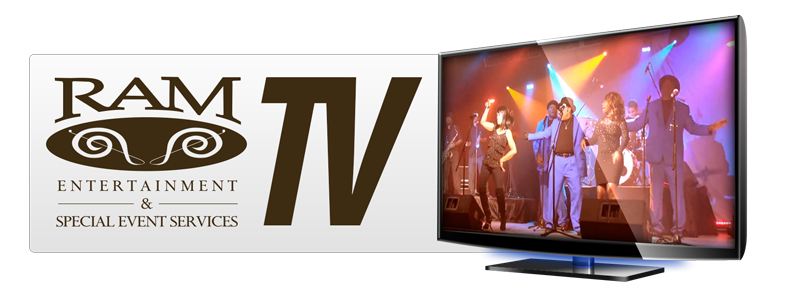 RAM Entertainment and Special Event Services TV Logo