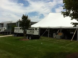 Tents and Power